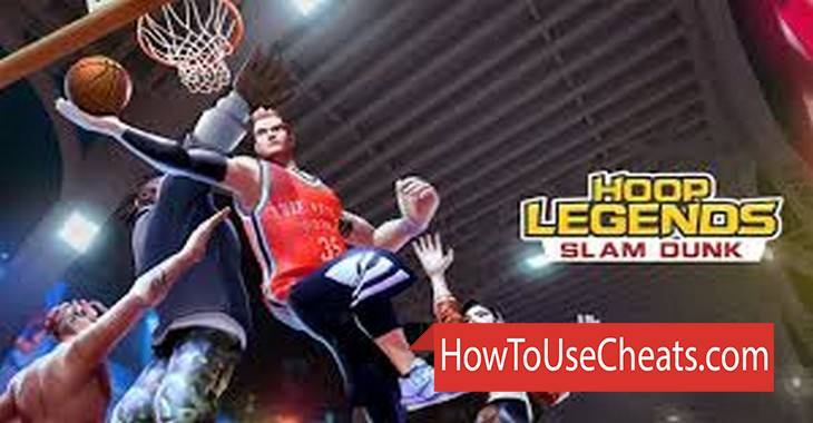 Hoop Legends: Slam Dunk how to use Cheat Codes and Hack Gold and Points