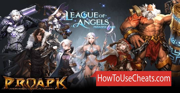 League of Angels Paradise Land Hack - Gold and Diamonds