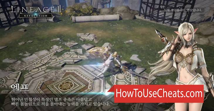 Lineage 2 Revolution how to use Cheat Codes and Hack Diamonds, Weapon and Experience