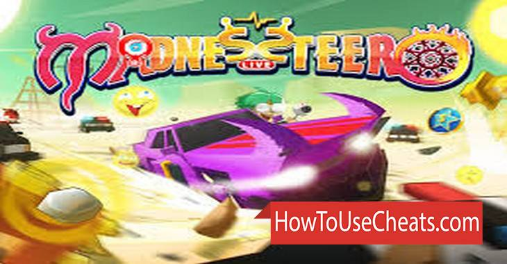 Madnessteer Live how to use Cheat Codes and Hack Likes, Cars and Stars