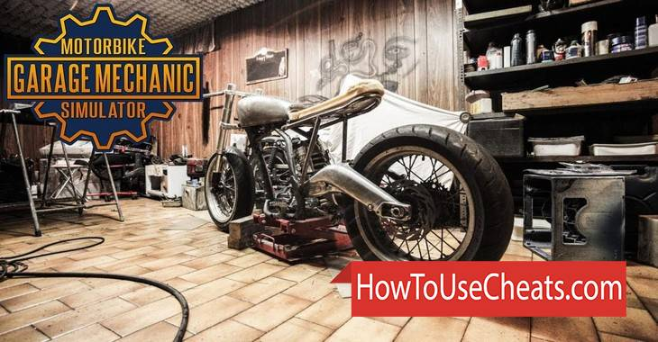 Motorcycle Mechanic Simulator how to use Cheat Codes and Hack Money