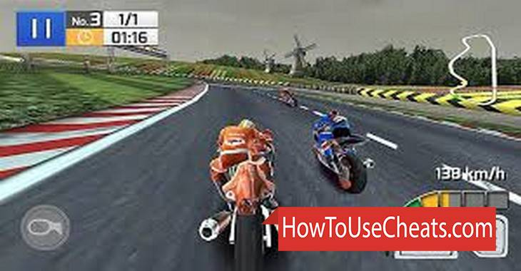 Real Bike Racing how to use Cheat Codes and Hack Money and Coins