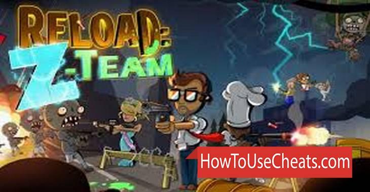 Reload: The Z-Team how to use Cheat Codes and Hack Coins and Diamonds