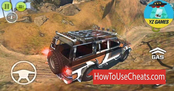Revolution Offroad how to use Cheat Codes and Hack Gold and Money