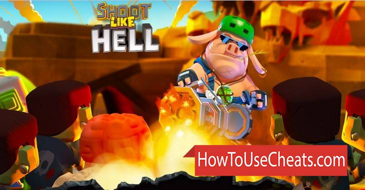 Shoot Like Hell: Zombie how to use Cheat Codes and Hack Gold and Gems