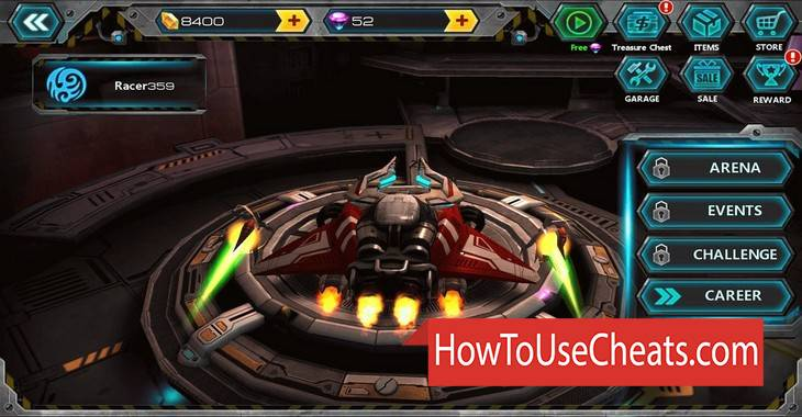 Space Racing 2 how to use Cheat Codes and Hack Gold and Diamonds
