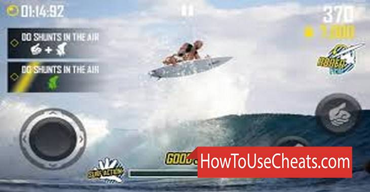 Surfing Master how to use Cheat Codes and Hack Money and Gold