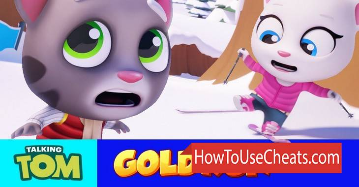Talking Tom Gold Run how to use Cheat Codes and Hack Gold and Dimaonds