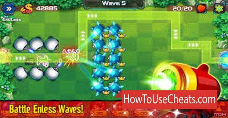 Tower Defense: Battle Zone how to use Cheat Codes and Hack Money