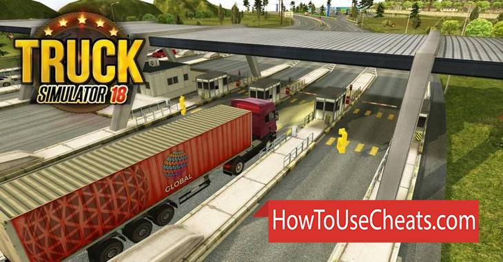 Truck Simulator 2018 Europe how to use Cheat Codes and Hack Money