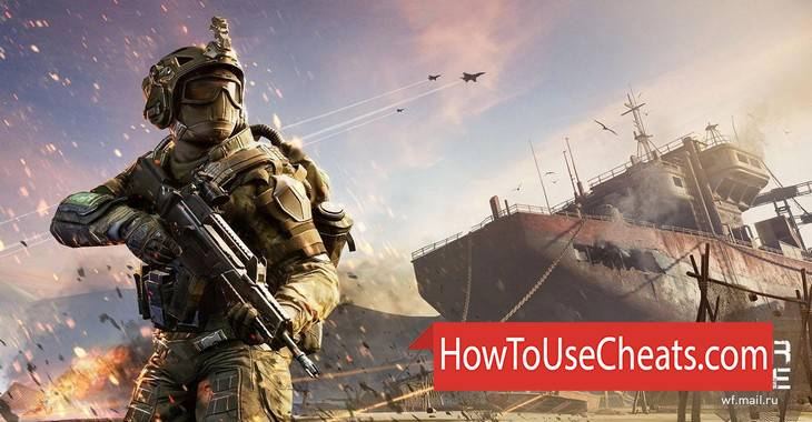 Warface how to use Cheat Codes and Hack Credits, Experience and Buckes