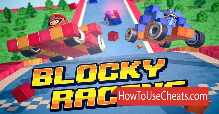 Blocky Racing how to use Cheat Codes and Hack Coins and Money