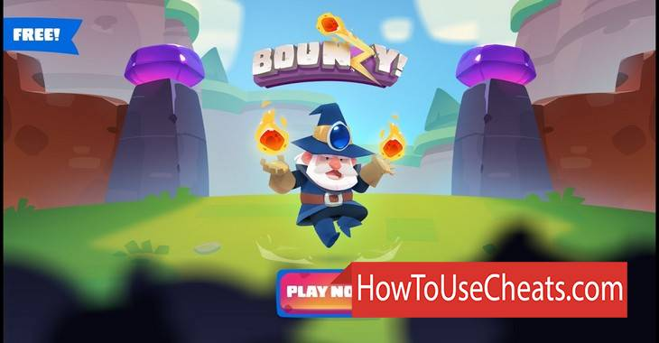 Bounzy how to use Cheat Codes and Hack Diamonds, Energy and Gold