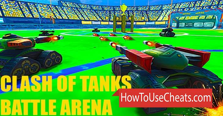 Clash of Tanks: Battle Arena how to use Cheat Codes and Hack Coins and Weapon