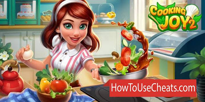 Cooking Joy 2 how to use Cheat Codes and Hack Coins and Diamonds