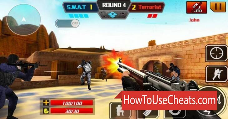 Critical Strike 2 how to use Cheat Codes and Hack Money, Weapon and Experience