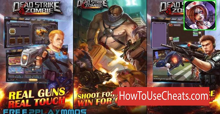 Dead Strike 4 Zombie how to use Cheat Codes and Hack Gold, Diamonds and Energy