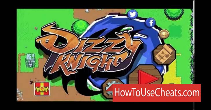 Dizzy Knight how to use Cheat Codes and Hack Coins