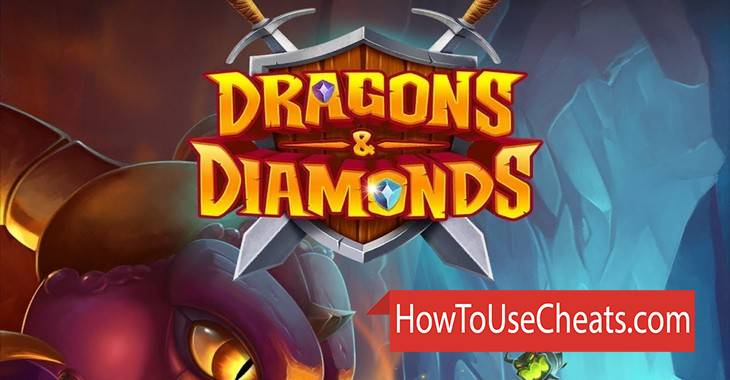 Dragons & Diamonds how to use Cheat Codes and Hack Coins and Gems
