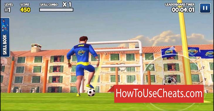Freestyle Football 3D how to use Cheat Codes and Hack Coins and Gems