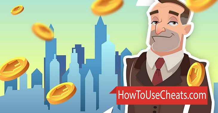 Idle City Billionaire how to use Cheat Codes and Hack Coins and Diamonds