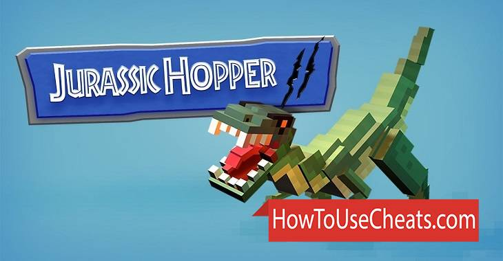 Jurassic Hopper 2 how to use Cheat Codes and Hack Coins