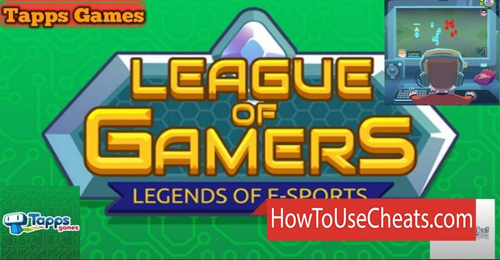 League of Gamers how to use Cheat Codes and Hack Coins and Gems