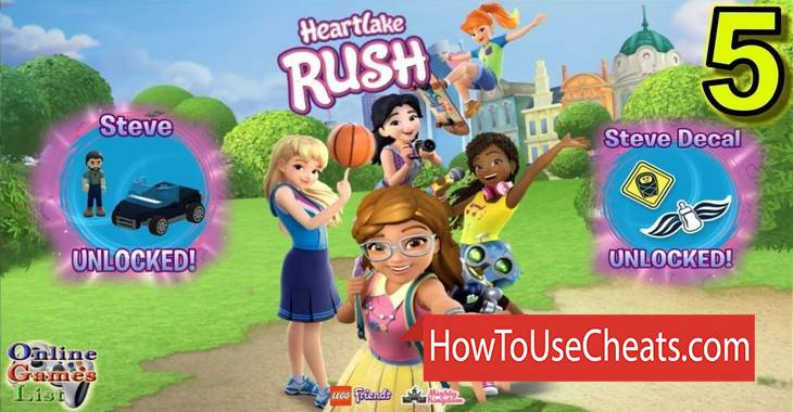 LEGO Friends: Heartlake Rush how to use Cheat Codes and Hack Coins and Points