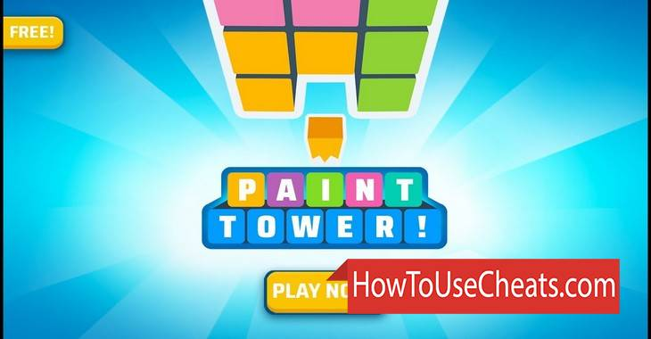 Paint Tower how to use Cheat Codes and Hack Hammers