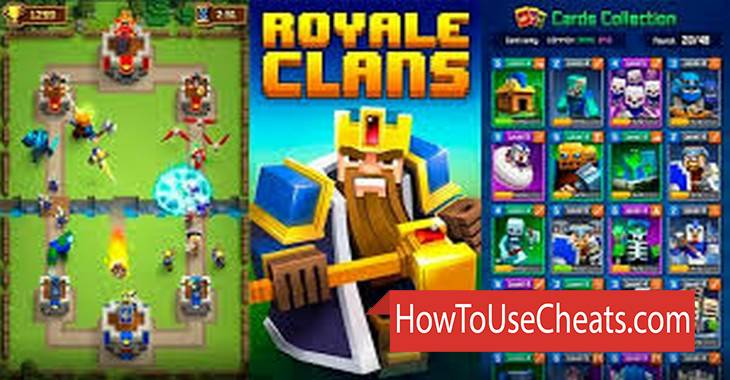 Royale Clans – Clash of Wars how to use Cheat Codes and Hack Coins and Diamonds