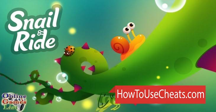 Snail Ride how to use Cheat Codes and Hack Experience and Snails
