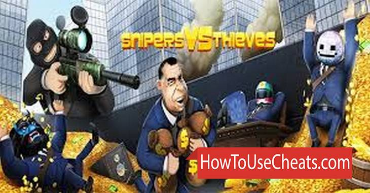 Snipers vs Thieves how to use Cheat Codes and Hack Money and Coins