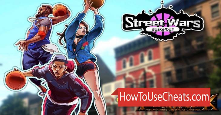 Street Wars: Basketball how to use Cheat Codes and Hack Coins, Points and Diamonds