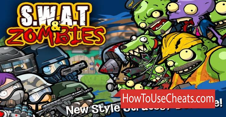 SWAT and Zombies Season 2 how to use Cheat Codes and Hack Coins and Experience