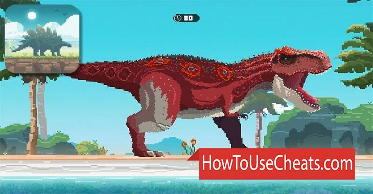 Tiny Dino World: Return how to use Cheat Codes and Hack Gold and Gems