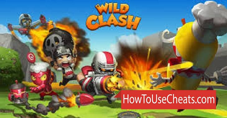 Wild Clash how to use Cheat Codes and Hack Coins, Gems and Experience