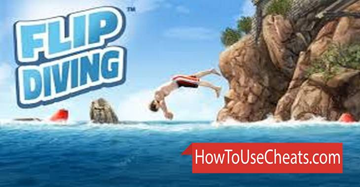 Flip Diving how to use Cheat Codes and Hack Tickets