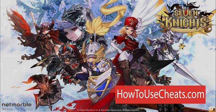 Seven Knights how to use Cheat Codes and Hack Rubies