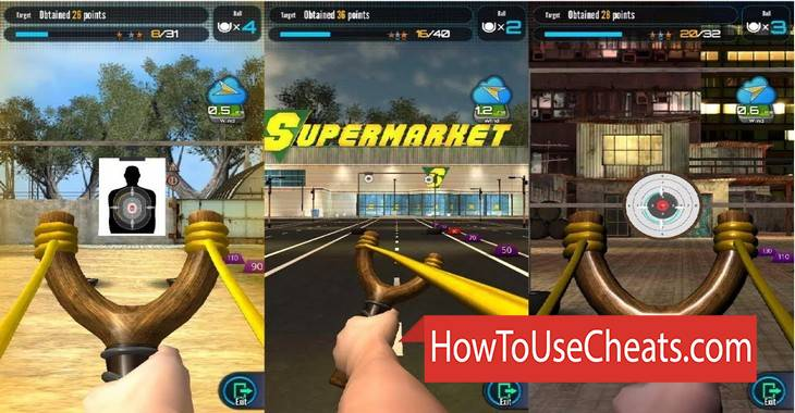Slingshot Championship how to use Cheat Codes and Hack Coins and Diamonds