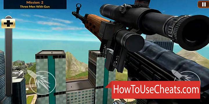 Sniper 3D – 2019 how to use Cheat Codes and Hack Money, Levels and Pistols